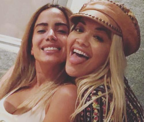 Fotos das cantoras foram celebradas por fãs nas redes (Reprodução/Instagram)