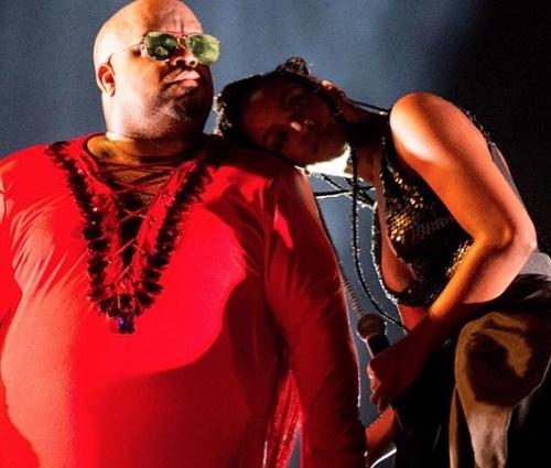 Iza e CeeLo Green fizeram parceria no Rock In Rio de 2017 (Reprodução/Instagram)