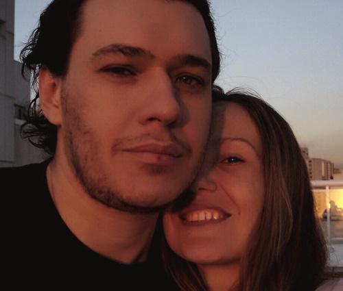 Uma das homenagens foi feita por Graziela, então esposa do cantor (Instagram)