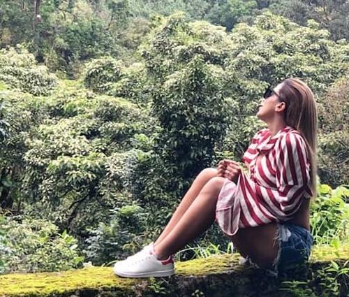 Anitta deixou o celular de lado durante viagem de folga (Reprodução/Instagram)