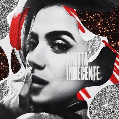 Capa do single 'Indecente', de Anitta (Divulgação)