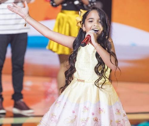 Recontagem trouxe Mariah Yohana de volta ao programa (Paulo Belote / Globo)