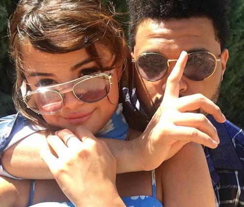 Weeknd insinua que'quase cortou um pedaço de si' para Selena (Rep./Instagram)