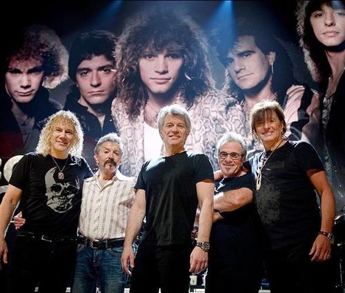 Bon Jovi celebrou indução ao Rock Hall com formação original (David Bergman)
