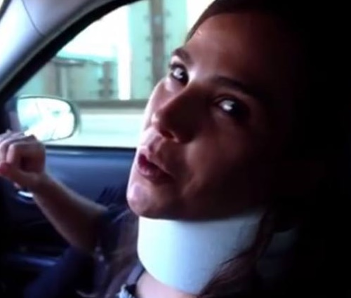 Wanessa sofreu'crise de espasmo muscular' em seu pescoço (Reprodução)
