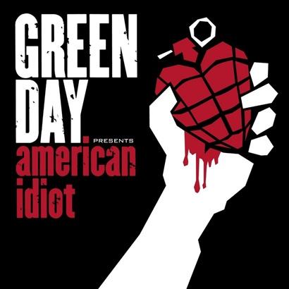 Capa do disco 'American Idiot', lançado pelo Green Day em 2004 (Divulgação)
