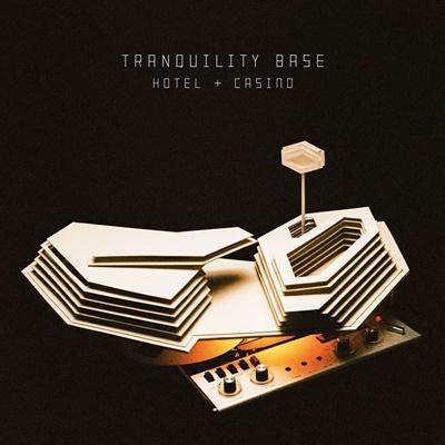 Capa de'Tranquility Base Hotel & Casino', novo álbum da banda (Divulgação)