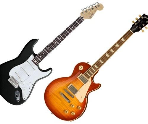 Fender e Gibson passam por crises internas (Divulgação)