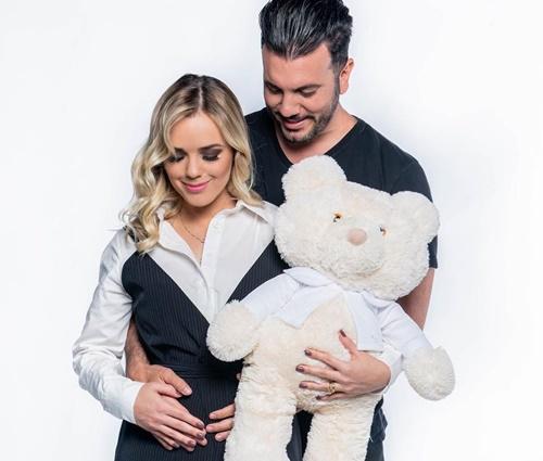 Cantora confirmou gravidez do 1° filho na segunda-feira, 21 (Reprod./Instagram)