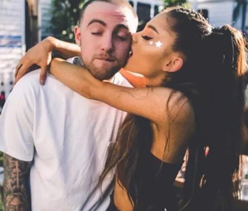 Internauta questionou fim de namoro entre Ariana e Mac Miller (Repr./Instagram)