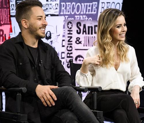 Sandy e Junior dão 1ª entrevista em dupla após anos e comentam retorno