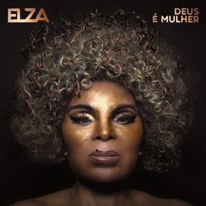 Capa de 'Deus é Mulher', de Elza Soares (Divulgação)