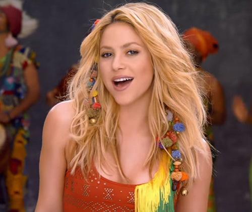 'Waka Waka', de Shakira, fez muito sucesso na época da Copa de 2010 (YouTube)