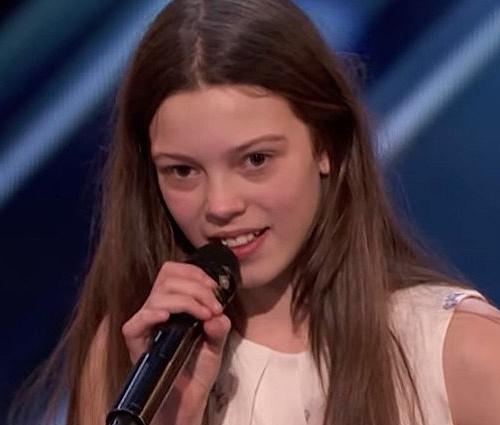 Courtney Hadwin deixou todos boquiabertos no 'America's Got Talent' (Reprodução)
