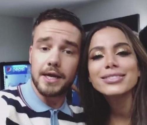 Anitta e Liam se conhecem de outros tempos (Divulgação)