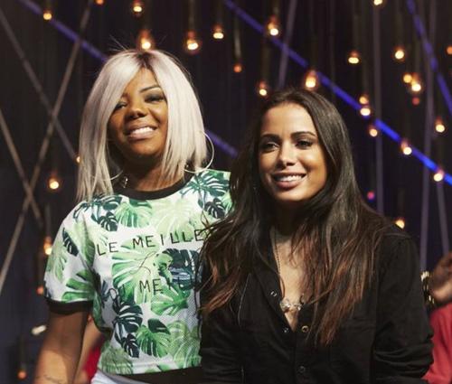 Ludmilla e Anitta são amigas e parceiras de trabalho (Divulgação)