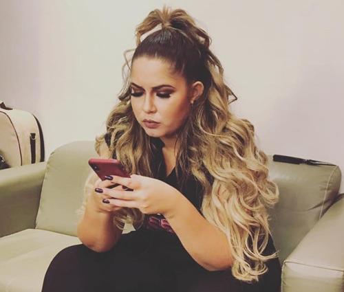 Marília é super ativa em sua conta no Twitter (Divulgação)