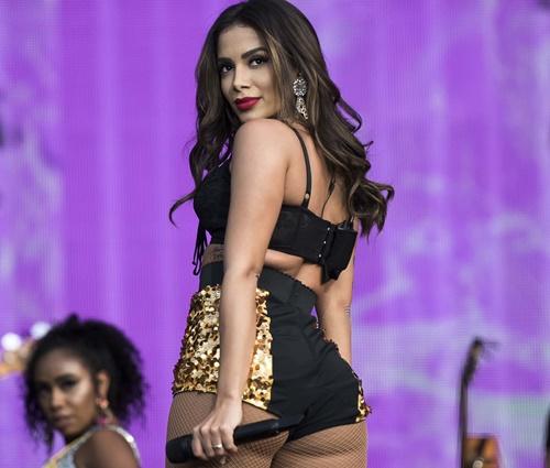 Anitta fez show no festival no último domingo, 24 (Ricardo Gomes/FP/EC)