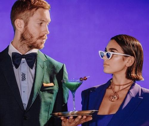 Atacante inglês pediu 'One Kiss', parceria do DJ com a cantora (Divulgação)