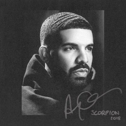 Capa de'Scorpion', novo disco de Drake (Divlugação)