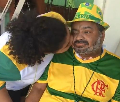Arlindo Cruz voltou para casa na última segunda-feira (2) (Divulgação)