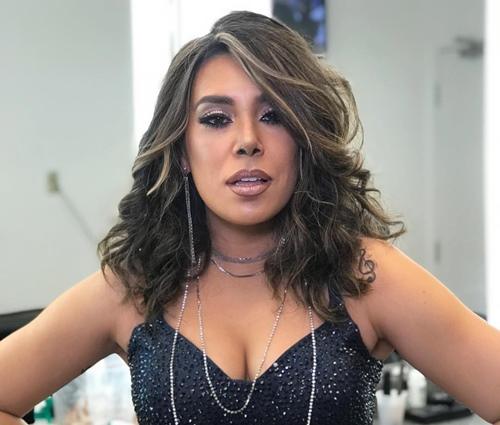 Naiara interpretou Anitta na final do 'Show dos Famosos' (Reprodução/Instagram)
