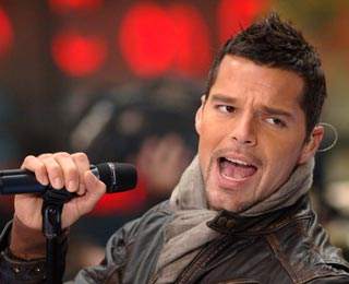 Ricky Martin começa turnê brasileira