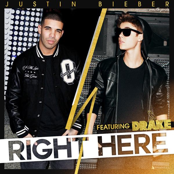 Justin Bieber divulga 'Right Here' como novo single de trabalho