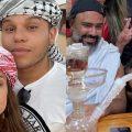 Tierry e Gabi Martins curtem férias em Dubai na companhia de foragido da polícia